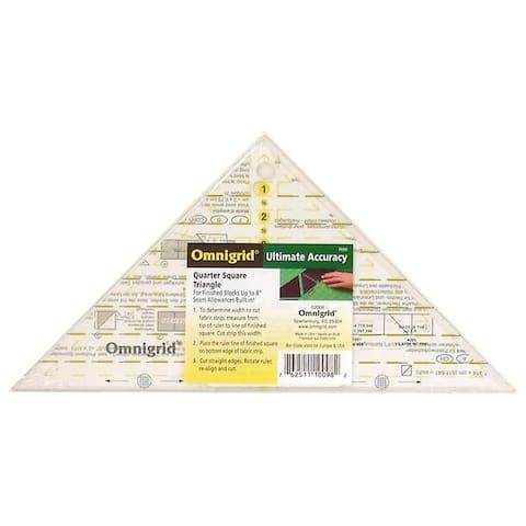 R98 omnigrid triangle quarter square up to 8 block