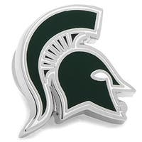 Cufflinks PD-MSU-LP Michigan State Spartans Lapel Pin - Green