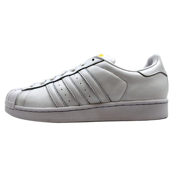 Adidas Men's Superstar Pharrell Supershell White/White-Yellow S83350