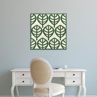 Easy Art Prints June Erica Vess's 'Cottage Leaves III' Premium Canvas Art