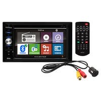 "Boss Double Din 6.2"" LCD Touchscreen With Back up Camera in 1 gift box"