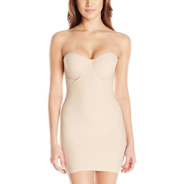 b0c8313cc55 Naomi and Nicole Womens Cupid Nude Comfort Convertible Strapless Braslip 36B