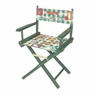 Folding Chairs Cotton/Wood Folding Chair 33 5/8H x 22W