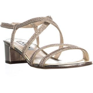 7b4a7be3732 Quick View. Was  49.99.  7.50 OFF. Sale  42.49. Nina Gaelen Strappy Block  Heel Sandals