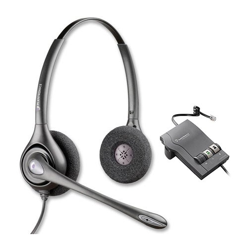 Plantronics PW261N with M22 Dual Earpiece Wideband Headset