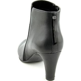Bandolino Wincer Women Round Toe Leather Black Ankle Boot