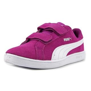 Puma Smash Fun Sd V Ps Youth Synthetic Purple Fashion Sneakers