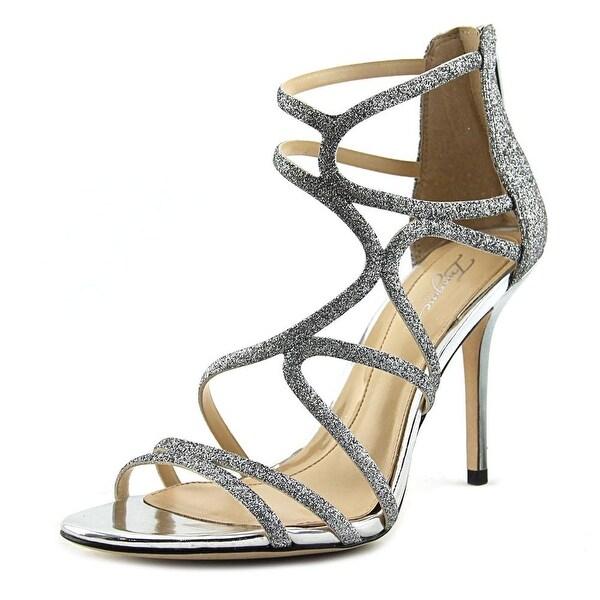 Vince Camuto Ranee Women Open-Toe Synthetic Silver Heels