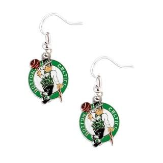 Boston Celtics Dangle Logo Earring Set Nba Charm Gift
