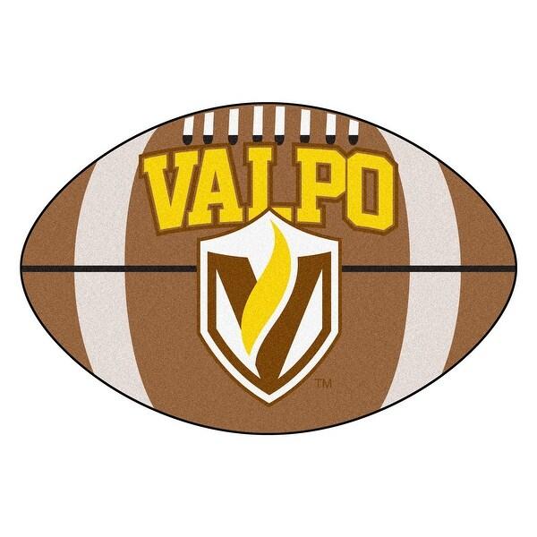 Shop Ncaa Valparaiso University Crusaders Football Shaped