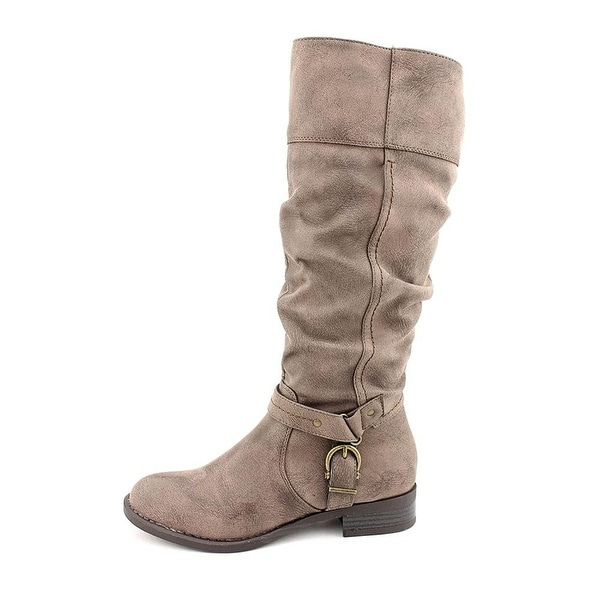 White Mountain Womens Lefty Almond Toe Mid-Calf Fashion Boots