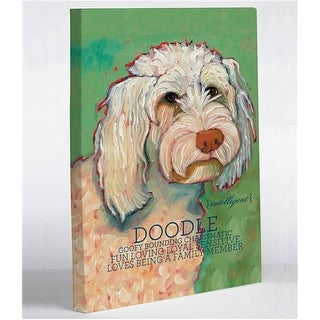 16 x 20 in. Golden Doodle 1 Canvas Wall Decor by Ursula Dodge
