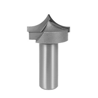 Router Bit 1/2 Shank 1-1/8 inch Dia Tapered End Mill, Carbide for Woodworking