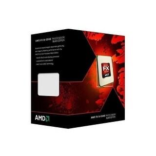 AMD FX-8350 Black Ed Vishera 8-Core 4.0 GHz (4.2 GHz Turbo) Socket AM3+ 125W CPU