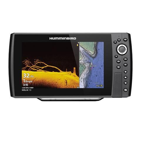 Humminbird 410880-1 HELIX 10 CHIRP Mega DI Fishfinder / GPS Combo G3N