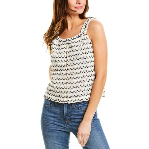 Madewell Textured Swing Tank
