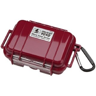 pelican 40027R Pelican 1010 Micro Case Solid Red With Red Lid
