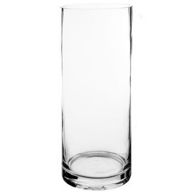 "CYS Glass Cylinder Vase, H-16"", Open D-6"" (1 PC)"