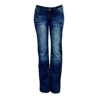 Cowgirl Tuff Western Denim Jeans Womens Apache Mid Rise Med