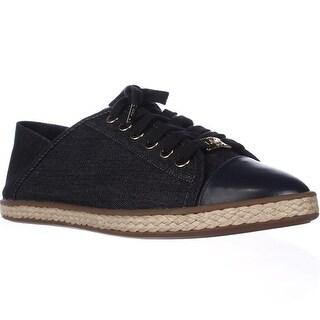 MICHAEL Michael Kors Kristy Slide Heel Cap Espadrille Sneakers - Denim