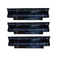 Replacement For Dell 312-0234 Laptop Battery (4400mAh, 11.1v, Lithium Ion) - 3 Pack