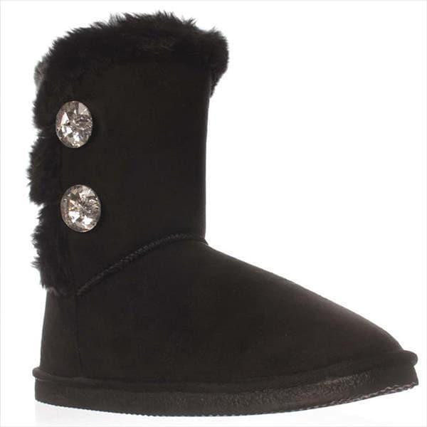 JFab Ottawa Snow Boots - Black