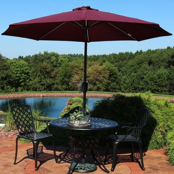 Shop Sunnydaze 9-Foot Fade-Resistant Patio Umbrella