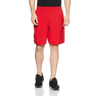 Under Armour Red Mens Size XL Woven Heat Gear Basketball Shorts