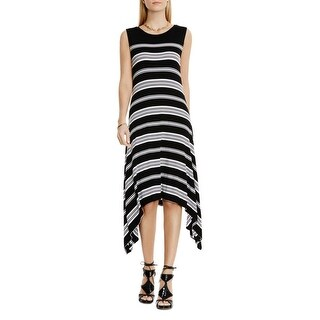 Vince Camuto Womens Casual Dress Jersey Striped