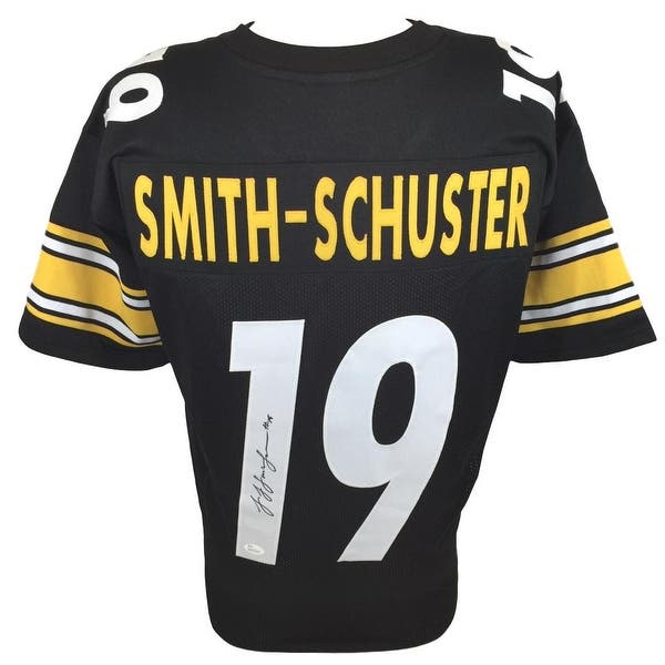 timeless design 3b87a 0331b Shop JuJu Smith-Schuster Signed Custom Black Pro-Style ...