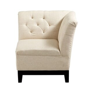 Cyan Design Emporia Chair Emporia 29.75 Inch Tall Wood and Foam Side Chair - Oatmeal