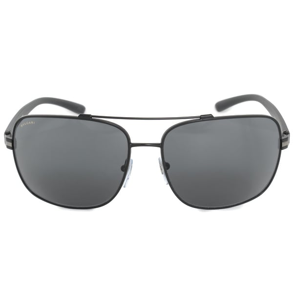 8257de831c6 Shop Bvlgari Aviator Sunglasses BV5038 128 87 63 - On Sale - Free ...
