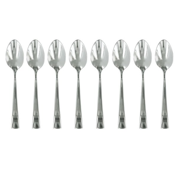ZWILLING J.A. Henckels Bellasera 8-pc 18/10 Stainless Steel Espresso Spoon Set - STAINLESS STEEL
