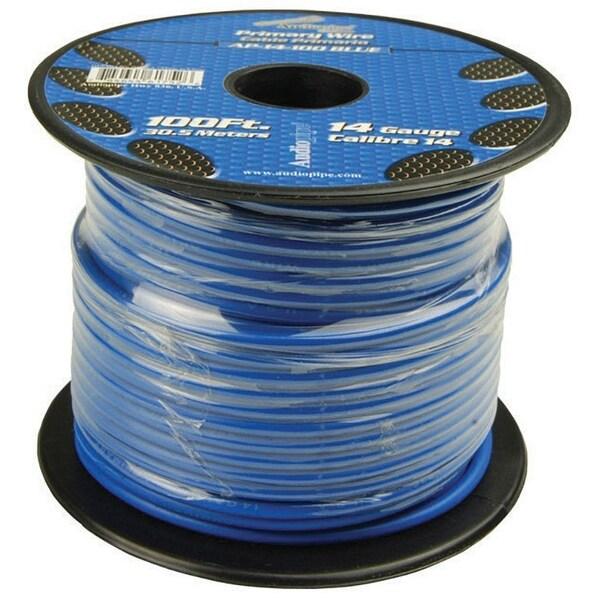 Audiopipe 14 Gauge 100Ft Primary Wire Blue