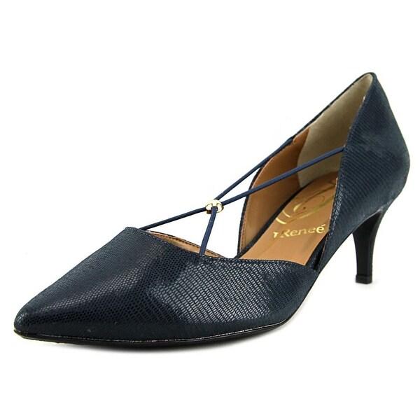 J. Renee Veeva  W Pointed Toe Canvas  Heels
