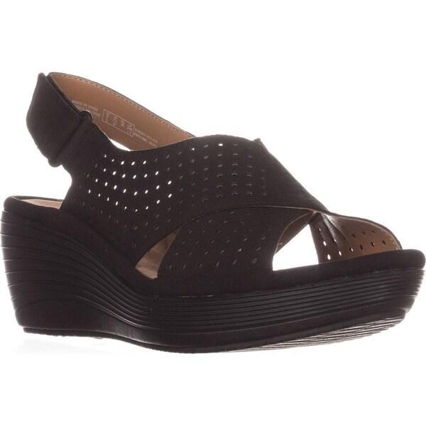 294a7cd2ea9 Shop Clarks Reedly Variel Wedge Sandals