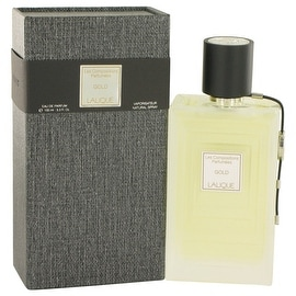 Eau De Parfum Spray 3.3 oz Les Compositions Parfumees Gold by Lalique - Women