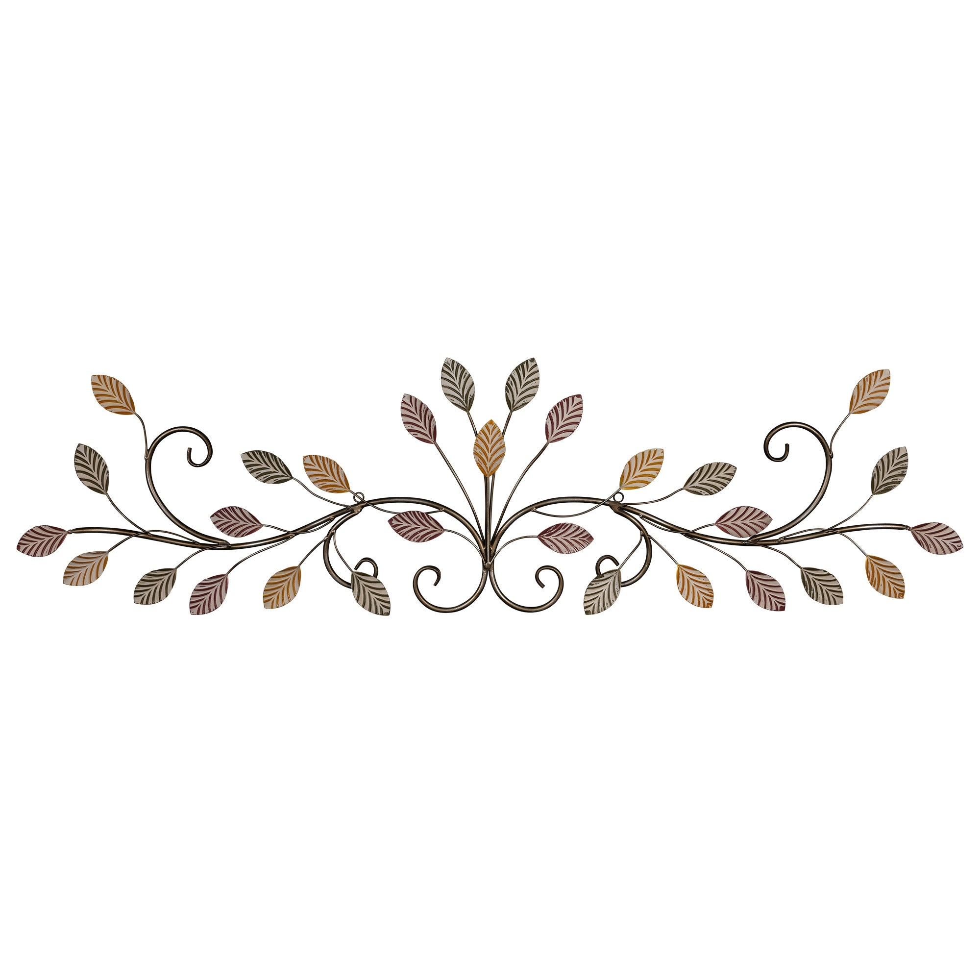 Stratton Home Decor Multi Color Flowing Leaves Over The Door Wall Overstock 32548536