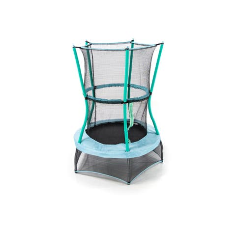 """Skywalker Trampolines 40"""" Round Classic Mini Bouncer with Enclosure"""