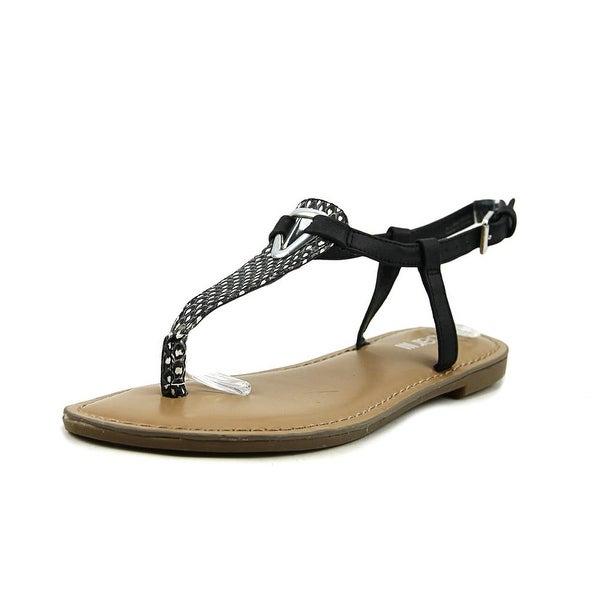 Bar III Velvet Women Open Toe Synthetic Multi Color Thong Sandal