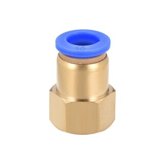 "3/8"" G Female Straight Thread 10mm Push In Joint Pneumatic Quick Fittings - 3/8"" G x 10mm"