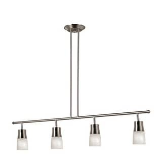 Trans Globe Lighting W-804 Modern 4 Light Ceiling Drop Track Spot Light from the Contemporary Collection - rubbed oil bronze