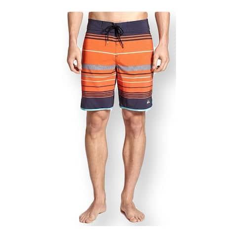 Quiksilver Mens Ag47 Pacific Stripe Swim Bottom Board Shorts