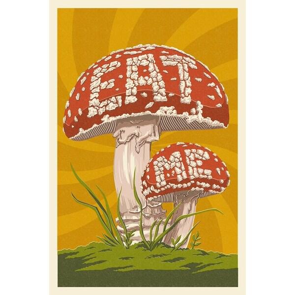 Eat Me Mushroom - LP Artwork (Cotton/Polyester Chef's Apron)