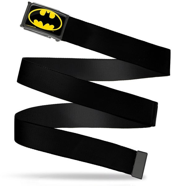 Batman Fcg Black Yellow Black Frame Black Webbing Web Belt