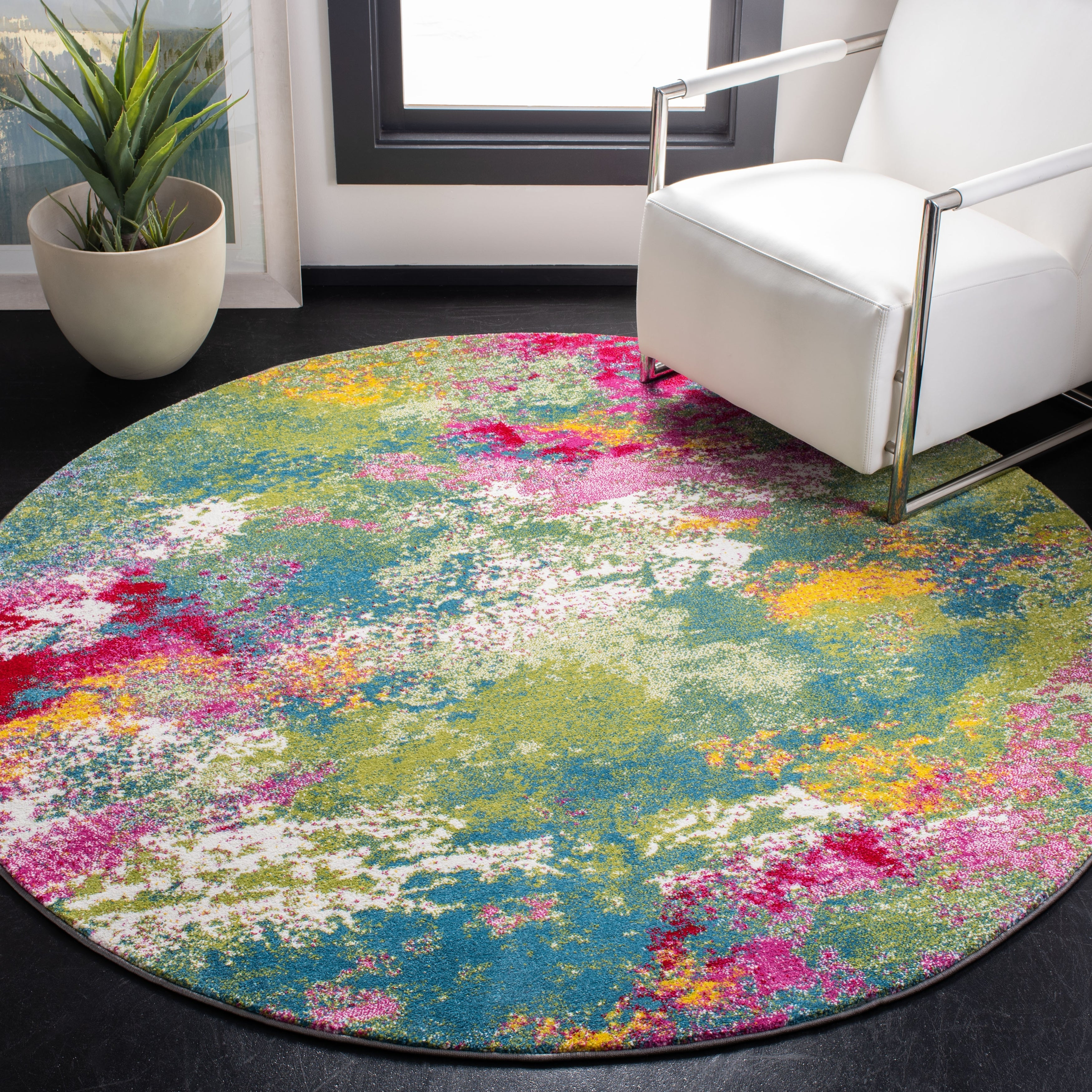Safavieh Watercolor Kyrto Watercolor Modern Abstract Rug On Sale Overstock 13263480