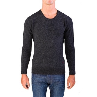 Valentino Men's Crew Neck Sweater Charcoal Grey