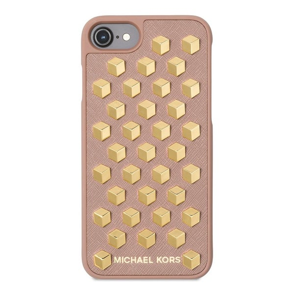 new product a8d5e 9b26c Michael Kors Womens Cell Phone Case Leather Studded - O/S