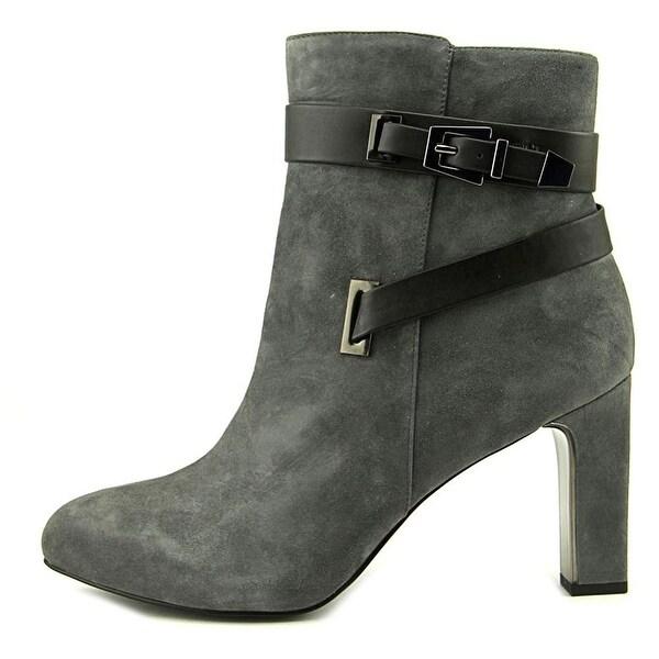 Alfani Womens Indraa Suede Closed Toe Ankle Fashion Boots - 6.5