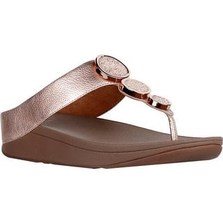 edc4958900ac Fitflop Womens Ritzy Back-Strap Slingback Sandals Studded Wedge · Quick View